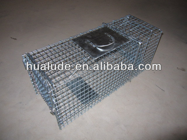 Wire Catch Mouse Rat Trap Cage,