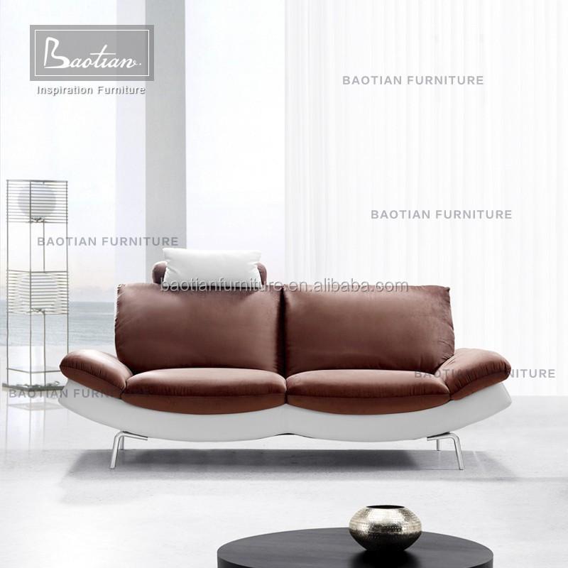 Love Seat Sofa Style Modern Pu Leather Furniture Living