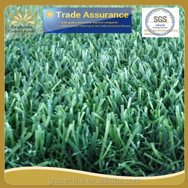 decorative artificial plastic grass mat