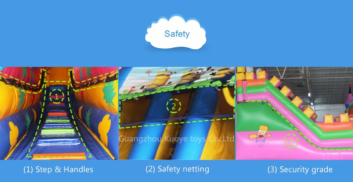 Hot Sale Giant Bouncing Inflatable Fun City Playground Amusement Park