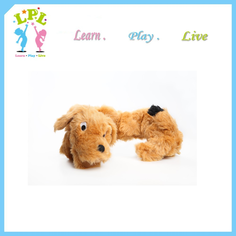 Kid good friends soft dog and monkey toy