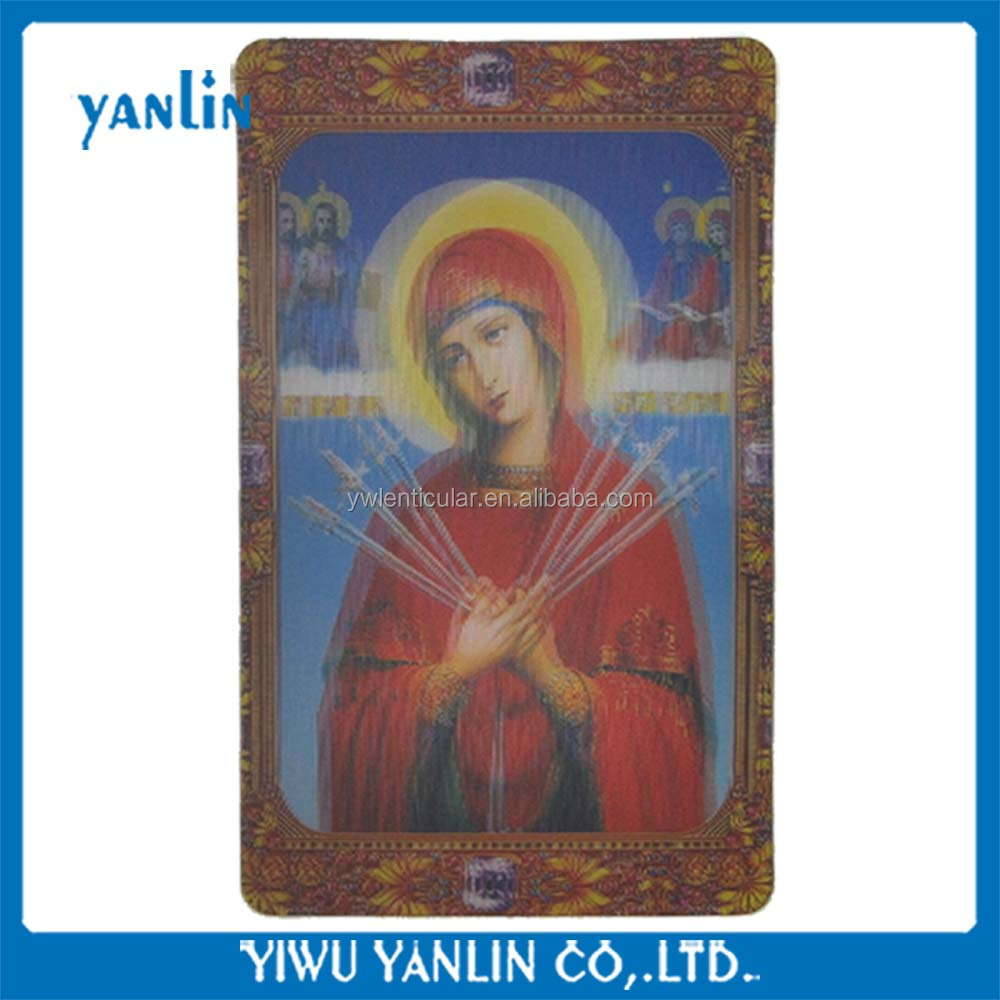 3d magnetic fridge of orthodox icon
