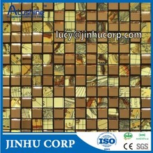 aluminium composite mosaic wall mirror, drawing acp mosaic, painting mosaic acm