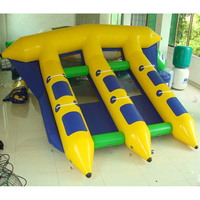 Funny inflatable flying fish ,inflatable flying fish tube towable