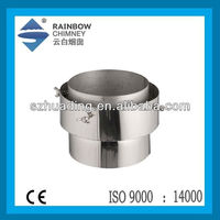 CE and stainless steel chimney pipe boiler chimney pipe fittings flue kits