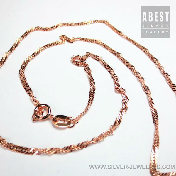 Handmade Sterling Silver Jewelry 925 Silver Chains