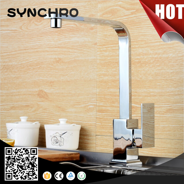 SKL-1059 Single handle bamboo kitchen faucet