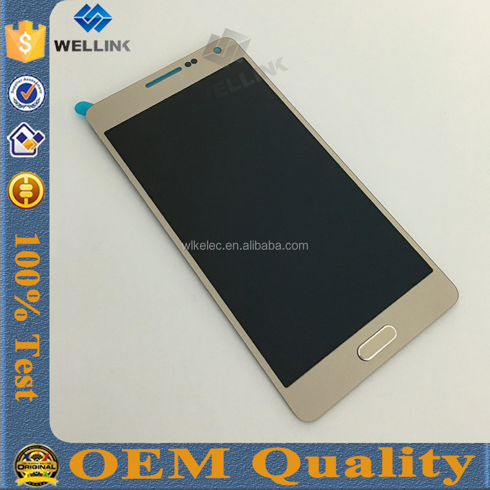 Original mobile phone spare parts for samsung galaxy A5 lcd