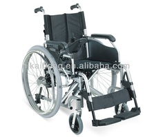 Folding power wheelchair with lithium battery