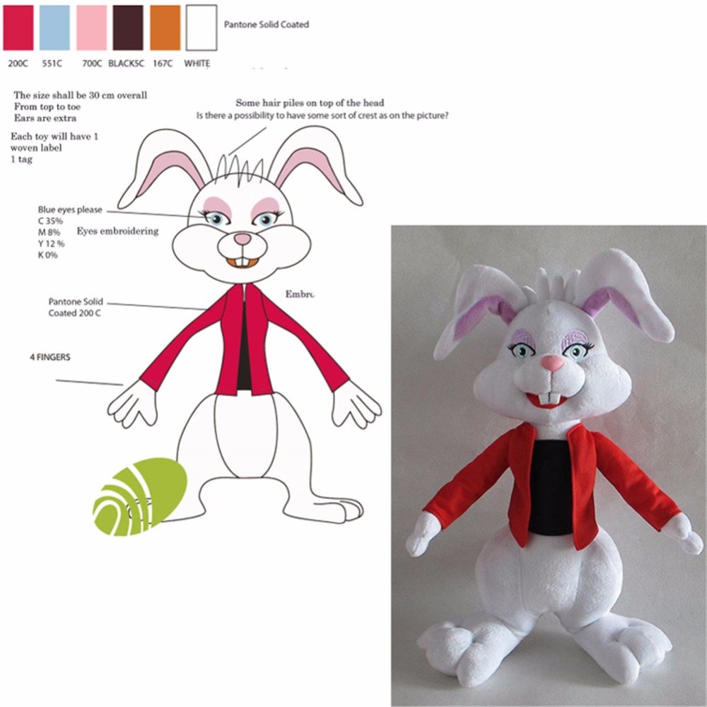 Direct factory stuffed animal toys custom plush