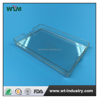 Wholesale pc ps eco-friendly custom promotional clear plastic card case