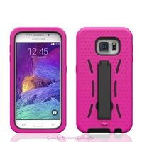2015 PC+Silicone Stand Phone Case for LG Optimus L70