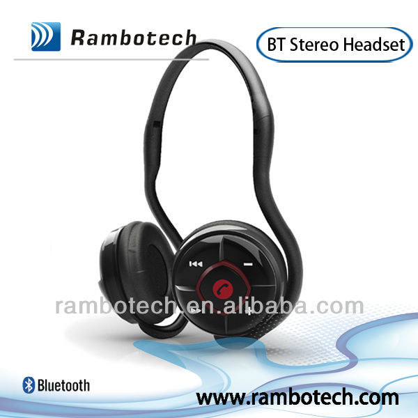2013 New neckband style bluetooth headset of best price for Skype, MSN