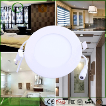Good Guarantee 3w 4W 6W 9W 12W 15W round led surface panel light, dimmable cold white wall mounted led panel light