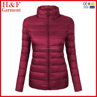2016 New Winter Women 90% White Duck Down Jacket Women's Ultra Light Down Jackets