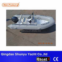 2016 CE Certificate outboard motor rigid hull inflatable boat for sale