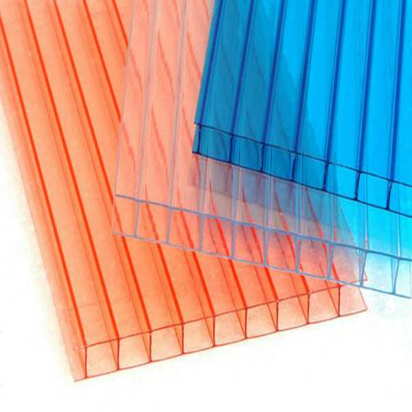 width 600mm roofing polycarbonate sheet/ multiwall polycarbonate sheet/cellular