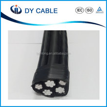 Low price aerial bunched cable ABC cable from Chinese manufacturer