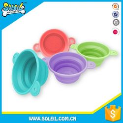 Professional Quality Folding Silicone Dog And Cat Bowl
