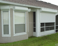 Aluminium Windows Shelter Electrical Operating Roller Shutters