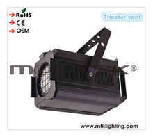 warm white 500w led fresnel light black beam vintage theater spotlights with halogen lamp