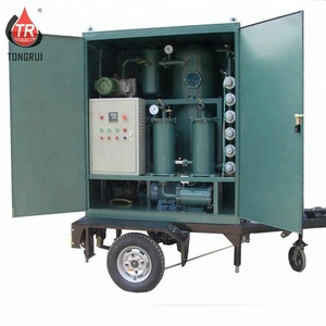 Double Stage Transformer Oil Dielectric Oil Recondition Purification Filter Machine For Sale
