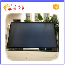 Mounted selective coating solar collector type for hotel using