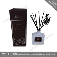 home fragrance ceramic reed diffuser with rattan sticks