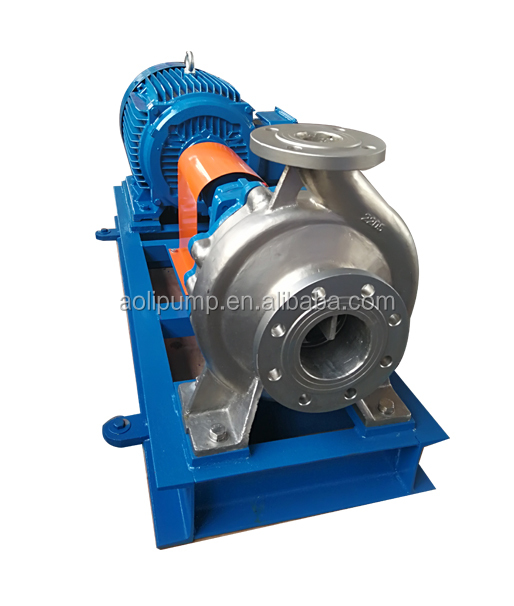 Stainless steel 10kw electric water centrifugal pump