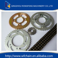 ybr125 parts for yamaha, chains and sprockets