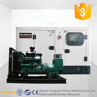 CE approved cheap China engine silent 500kw water cooling diesel generator set