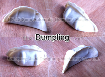 Semi-automatic operation steamed dumpling fried dumpling chinese dumpling machine