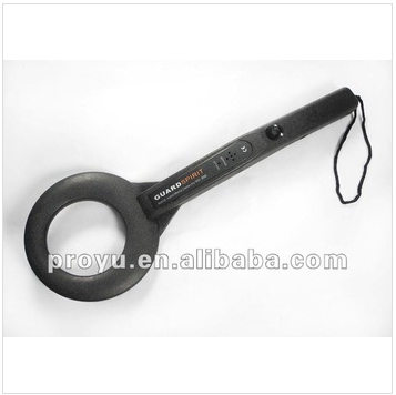 Highly Sensitive Security handheld Metal Detectors support for detect pin-sized metal articles PY-MD200