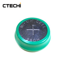 280H 330mAh Ni-Mh button cell battery 280H NiMH Rechargeable Button Cell Battery