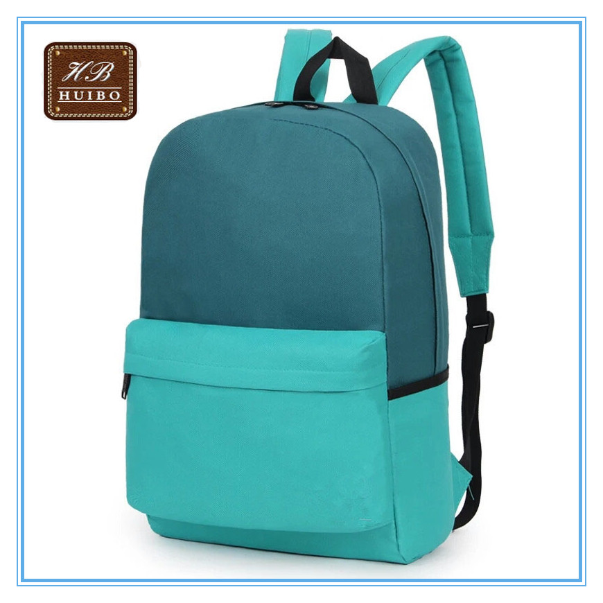 Durable 600D polyester school bags for teenagers custom