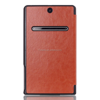 New Arrival Crazy Horse Leather Tablet Cover Laptop Case for Dell Venue 8 7000 7840