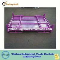 Excellent Quality Collasible Rigid Mesh Box For Warehouse