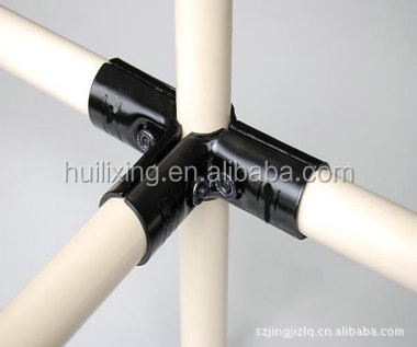 Rotational Lean Tube Metal Joint for Pipe Rack System