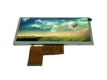"High brightness 5"" tft lcd touch screen for medical with low price"