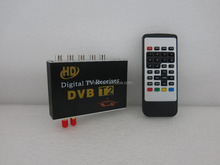 Top sales 160km/h car dvb t2 digital tv receiver tuner for thailand russia kenya