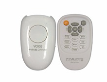 RF Smart Home Touchable Smart Remote Controller Universal Remote Control Rotating Lights/Voice/Speed