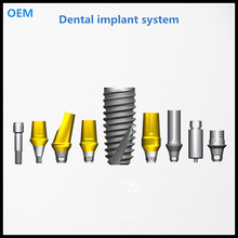 Spiral dental implant compatible for OSSTEM DIO Dentium