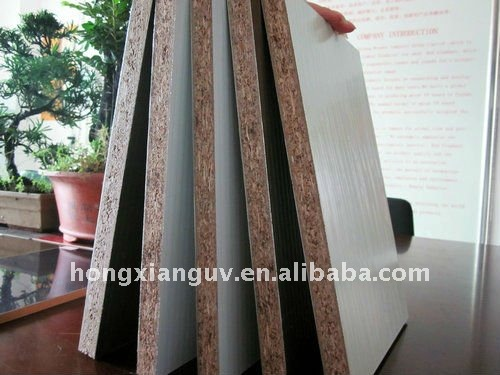 cabinet chipboard/particle board/flake board with metal covered