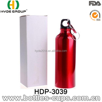 600ml Aluminium Sports Drinking Water Bottle With Logo