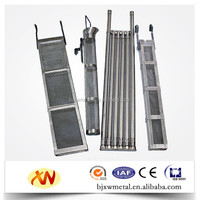 round and square shape titanium anodizing rack titanium anode baskets