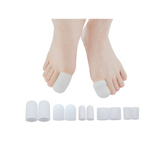 Sebs Safety Foot Care Gel Tube, Silicone Toe Cap Inserts, Gel Toe Cap