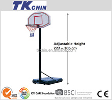 CE certificated high quality movable basketball hoop stand