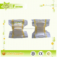 Hot-selling promotional OEM custom PP tape hugs disposable sleepy baby cloth diaper