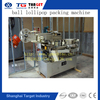 Good quality Ball lollipop bunch wrapping packing machine