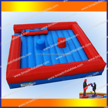 HOT!!! hot sale inflatable duel combat for gladiator games